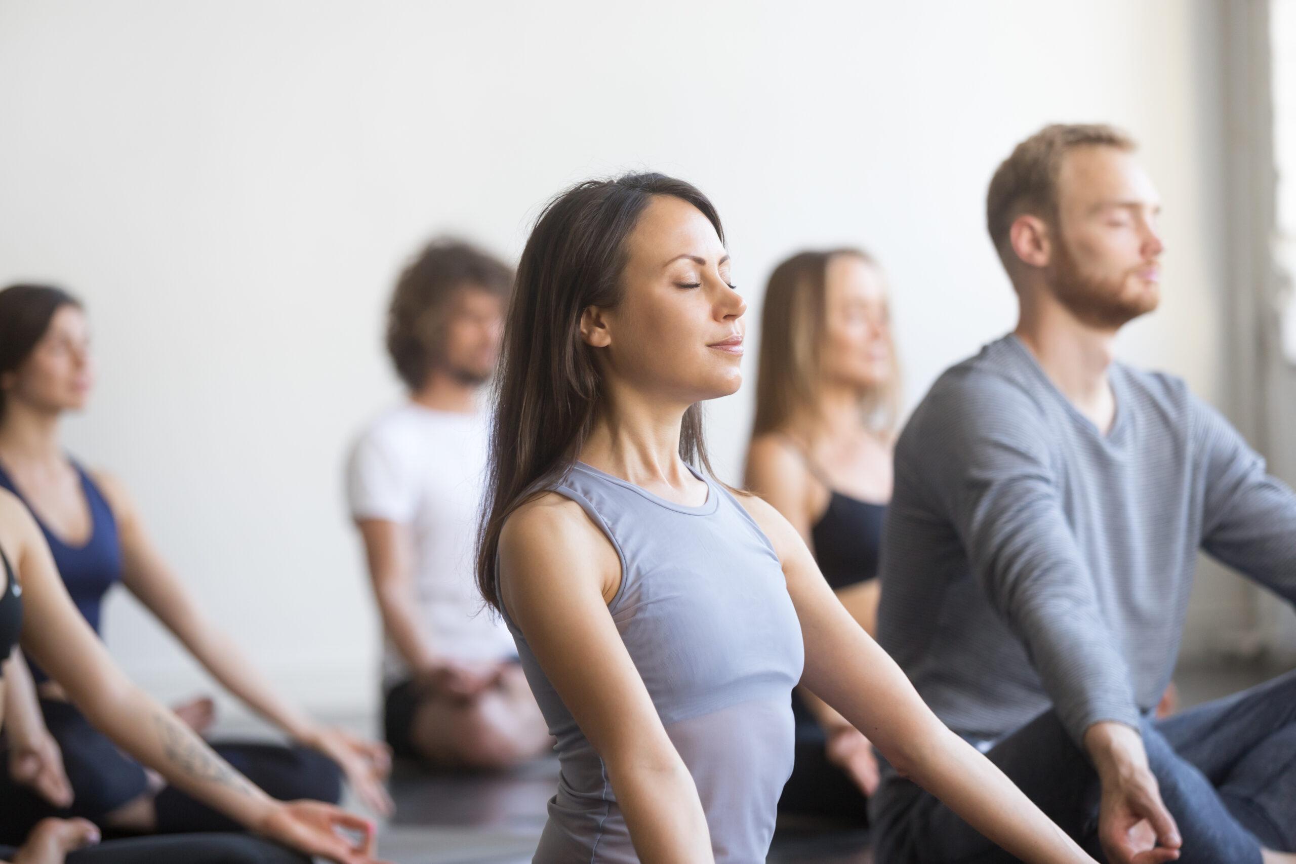 sesión de mindfulness