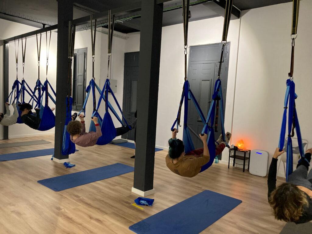 Yoga columpio